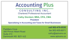 Accounting Plus Consulting Inc.